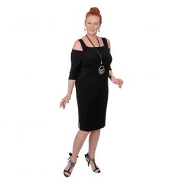 Cut Out Shoulder Dress - D6009